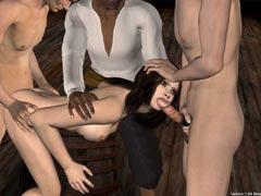 Порно игра пираты bloodheart