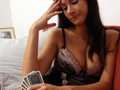 Strip Poker avec Lauren
